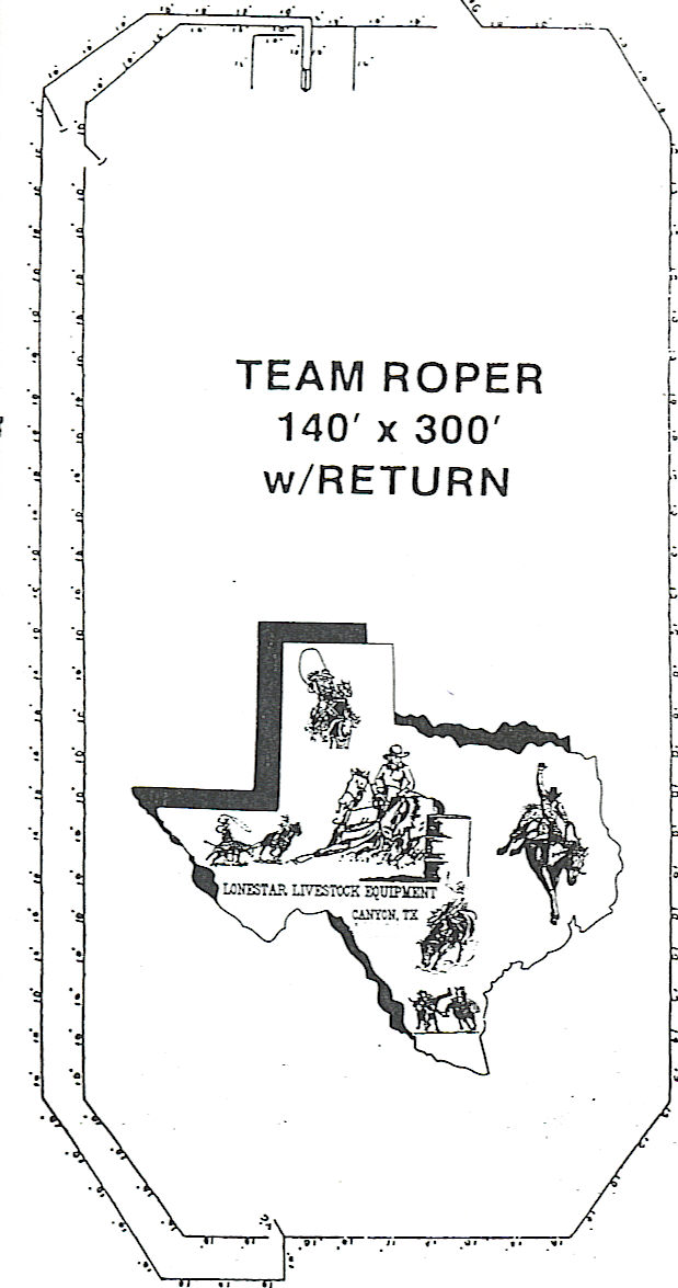 Calf Roping Arena Dimensions 150 X250 Roping Arena W 10