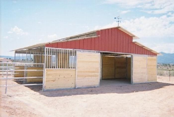 Custom RCA Tongue And Groove Horse Barn